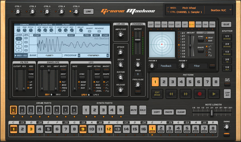 Virtual Drum Machine Sampler : groove machine ~ Vivirlamusica.com Haus und Dekorationen