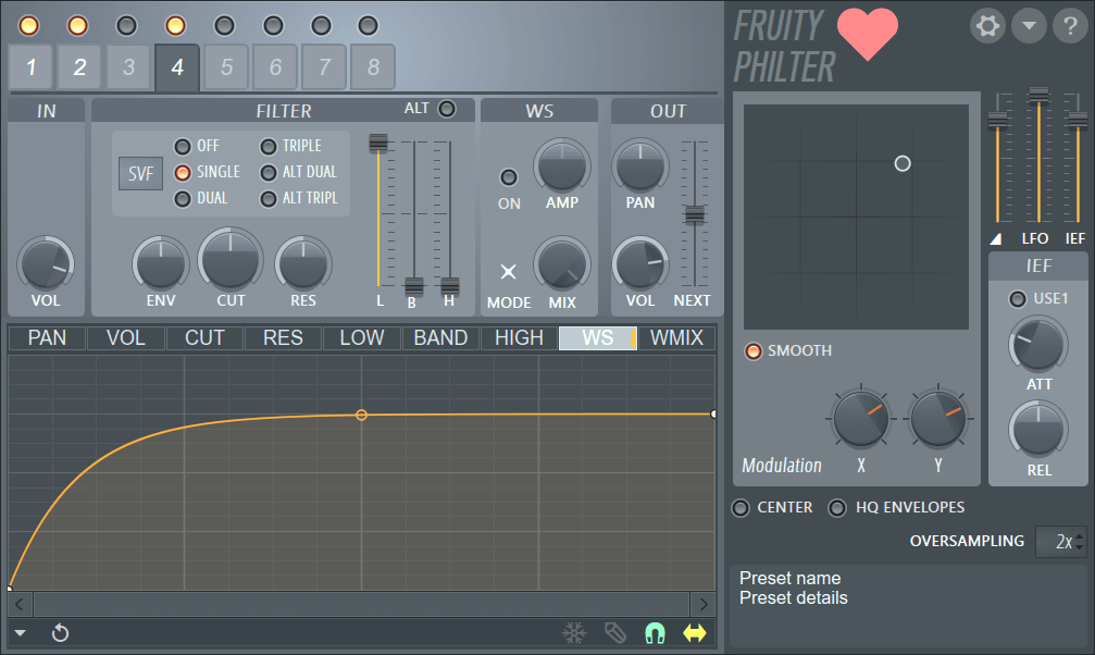 how to add effects to patterns in fl studio
