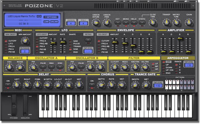 PoiZone V2 - Instrument