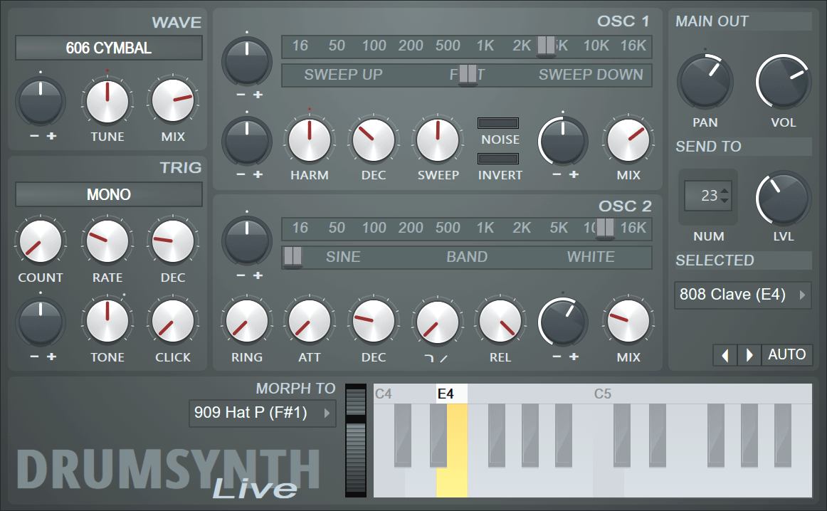 Fruity DrumSynth Live - Plugin Instrument