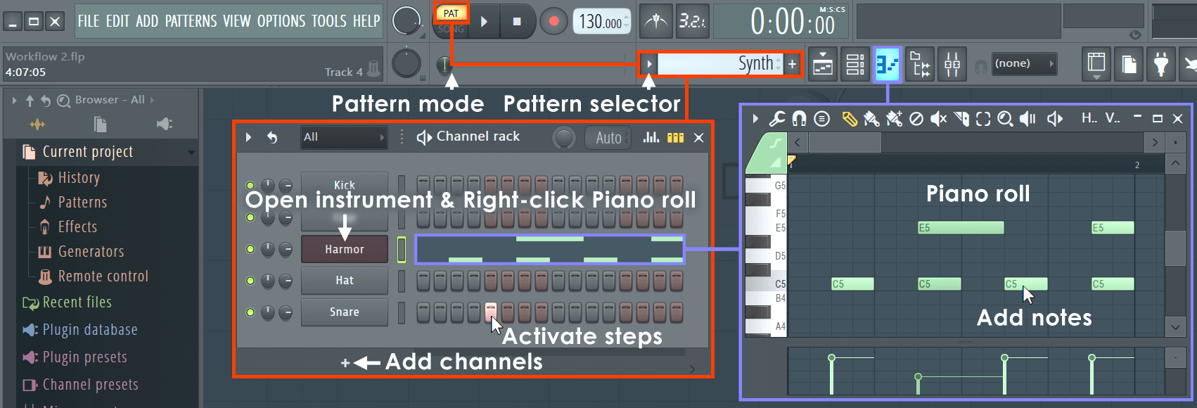 How to use FL Studio
