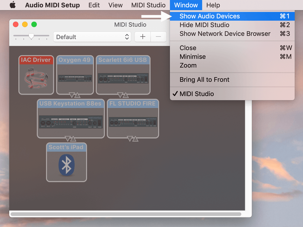 fl studio mac audio setting
