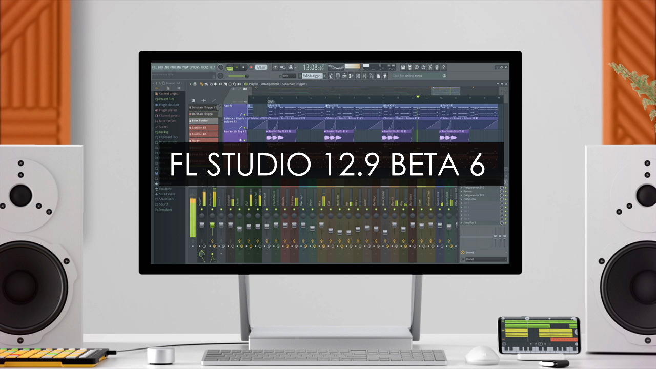 FL Studio 12.9 BETA 6