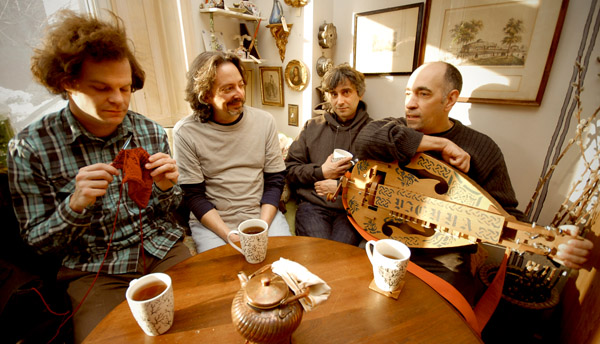 Dead Milkmen are coming for tea