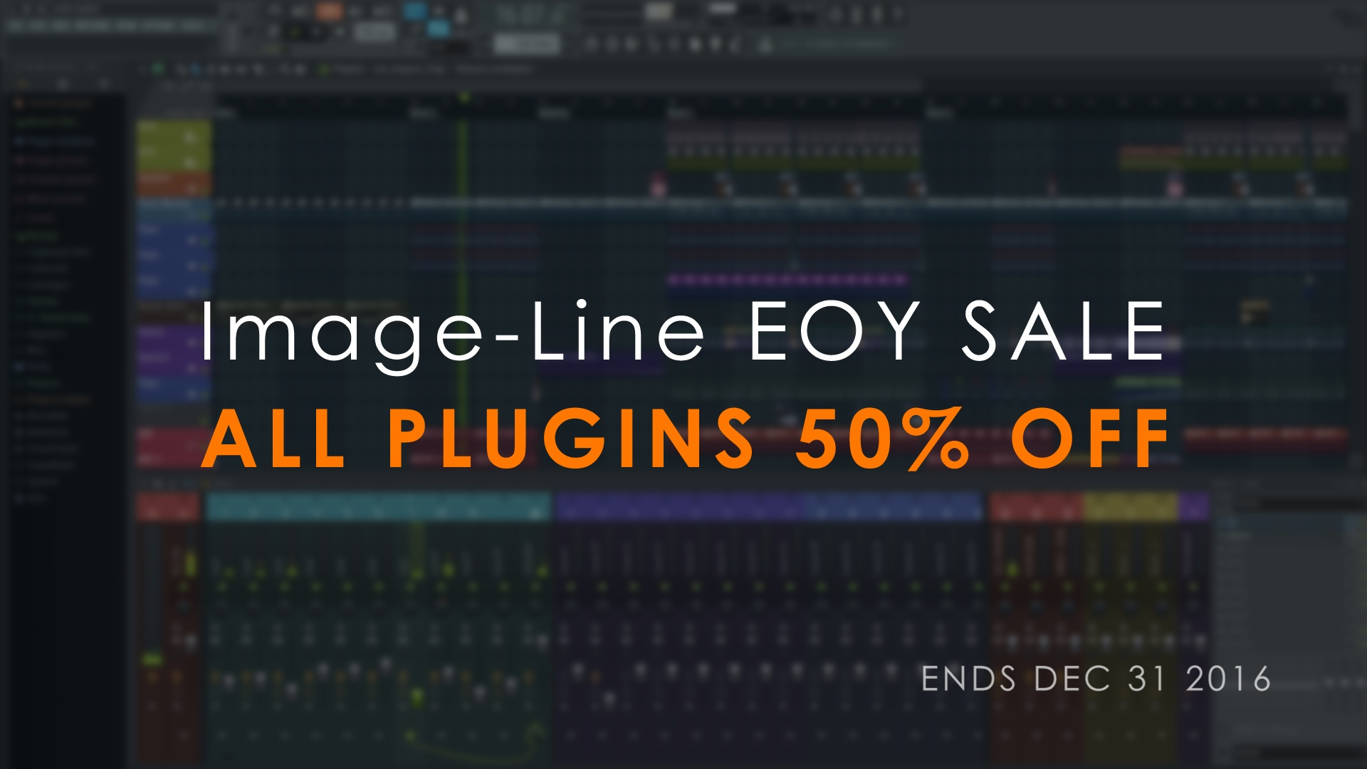 ALL PLUGINS HALF PRICE*