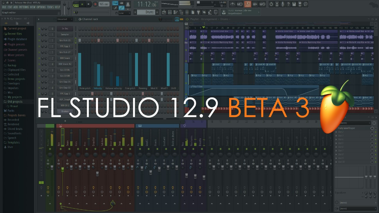 FL Studio 12.9 BETA 3
