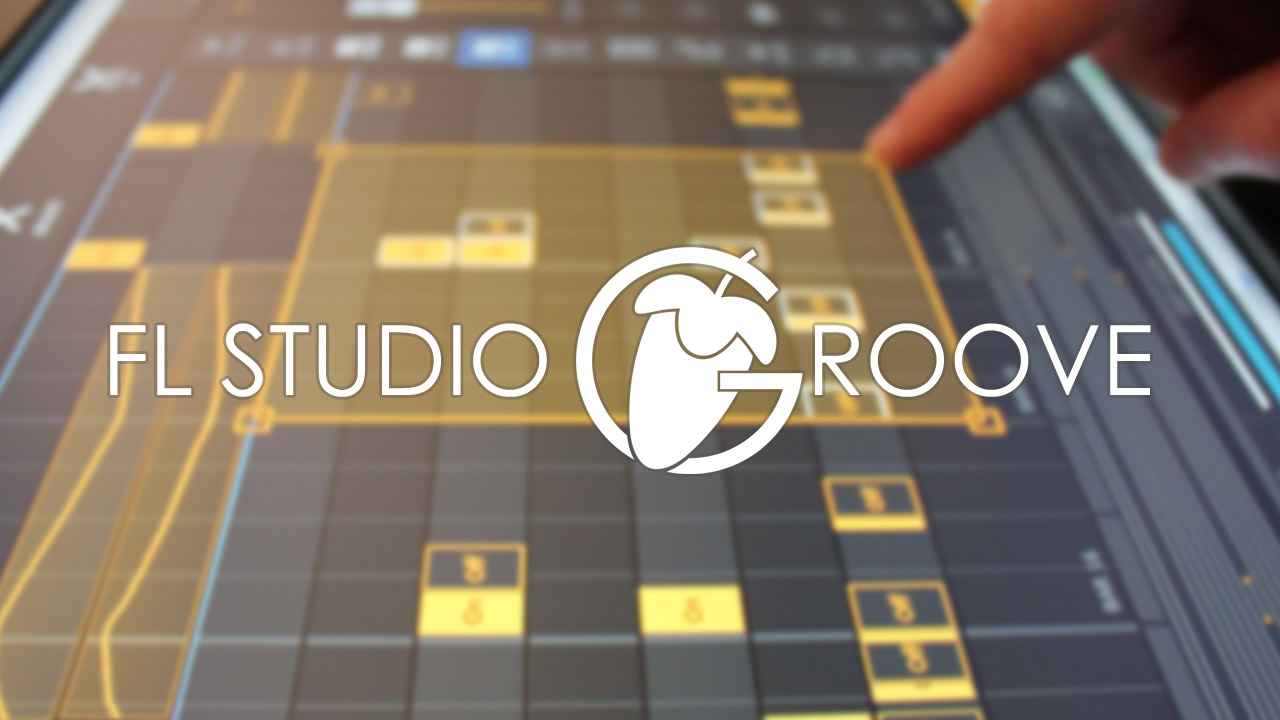 FL Studio Groove Photograph with Logo