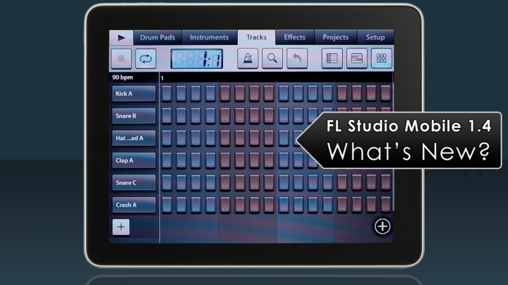 FL Studio Mobile 1.4