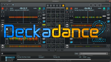 Deckadance 2 screenshot and logo