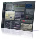 Image of the FL Studio 9 user interface.