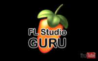 image of the FL Studio logo as shown at the start of FL Guru video's. Links to the Guru video page