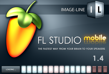 FL Studio Moblie splash screen