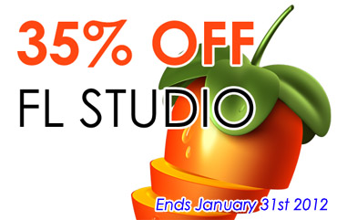-35% temp promo on FL Studio