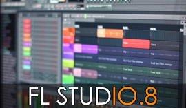 FL Studio beta 10.8 GUI