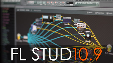 screenshot FL Studio 10.9 beta