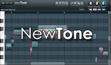 image of the Newtone interface. Link to the news item about the Newtone plugin.