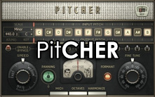 image of the Pitcher interface. Link to the news item about the new Pitcher plugin.