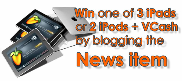 Blog about FL Studio Mobile let us know and win