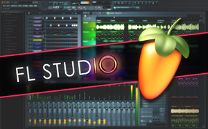 FL Studio 10 GUI image with the FL Studio 10 logo on top