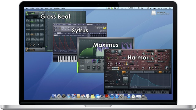 News - OSX, Alpha, Edison, Gross Beat, Harmless, Harmor