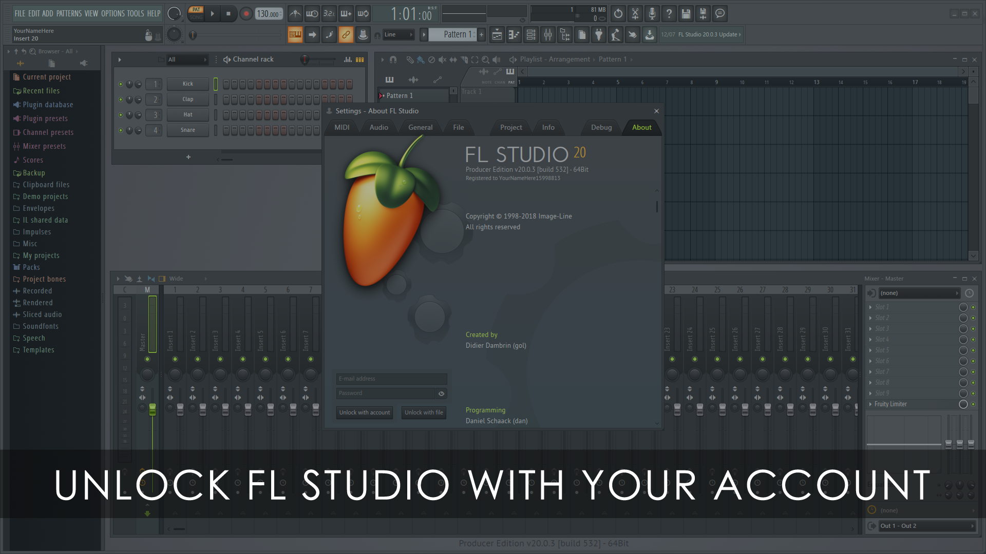How to Unlock FL Studio