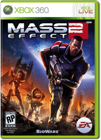 XBox 360 game - Mass2 Effect