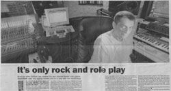 Thumbnail of a press cutting about Mike Oldfield