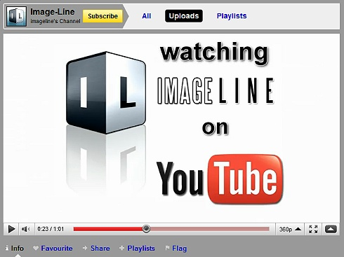 Image Line YouTube Videos