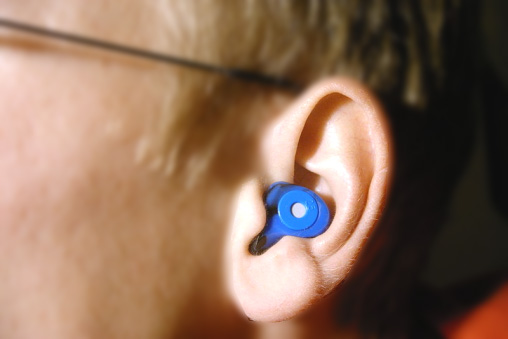 Custom molded hearing protection