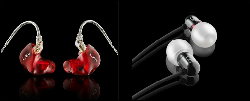 In ear monitors (photo courtesy of Ultimate Ears)