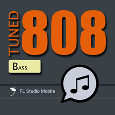 Image of the Tuned 808 Bass - InApp content.