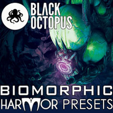 Image of the Black Octopus Biomorphic Presets - only download available online - no cd included.