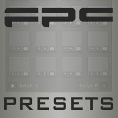 Image of the FPC pads - presets only - free download available online - no cd included.