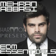 Image of the Mehran Abbasi EDM Essentials Presets - only download available online - no cd included.