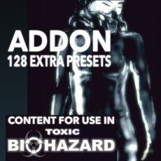 Image of the Toxic Biohazard Addon Presets - only download available online - no cd included.