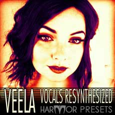 Image of the VEELA Vocals Resynthesized Presets - only download available online - no cd included.