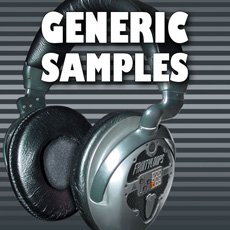 Image of the Generic Sample CD - only download available online - no cd included.