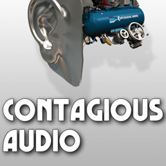 Image of the Contagious Audio CD - only download available online - no cd included.