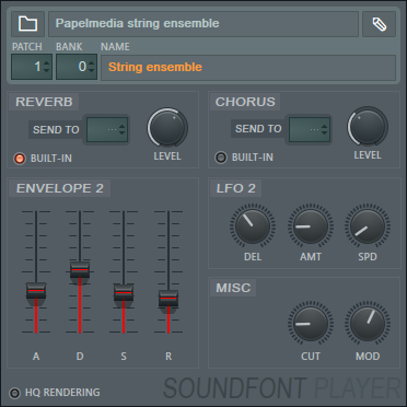 Soundfont Player