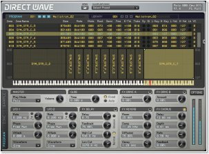 DirectWave Screenshot (Click for larger image)