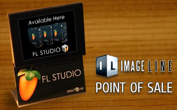 Image-Line point of sale display
